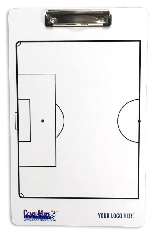 Coachmate clipboard for soccer - back side