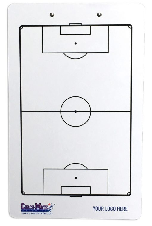 Coachmate clipboard for soccer